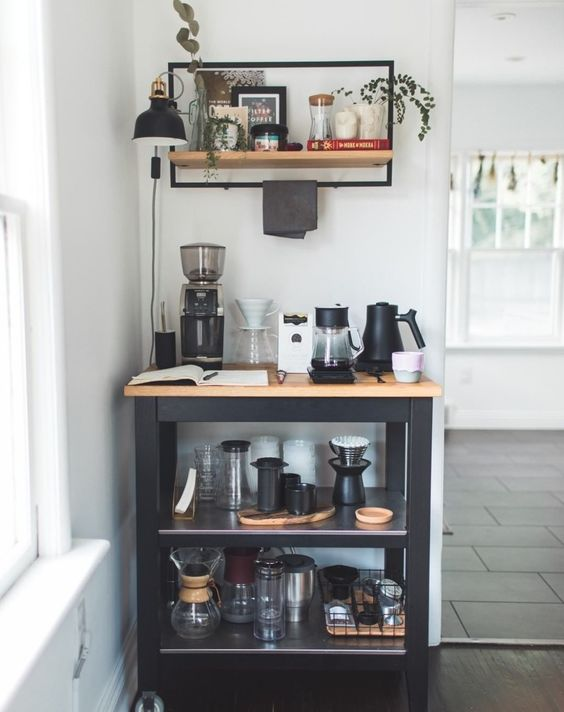 25 Inspirational Home Coffee Stations