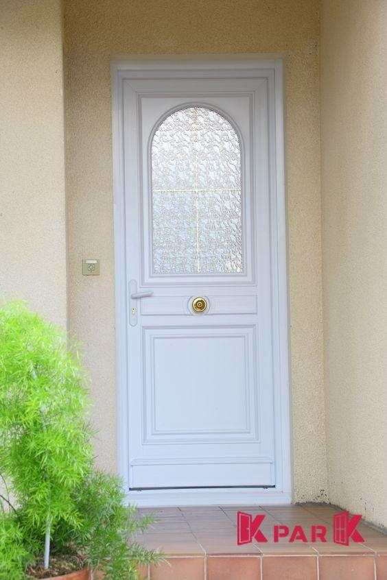 Porte d\u0027entrée PVC vitrée, gamme Matisse Portes d\u0027entrée PVC