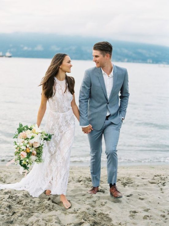 25 Stylish Beach Groom Looks That Inspire With Images Groom