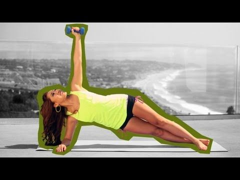 10 Minutes workout to melt muffin top