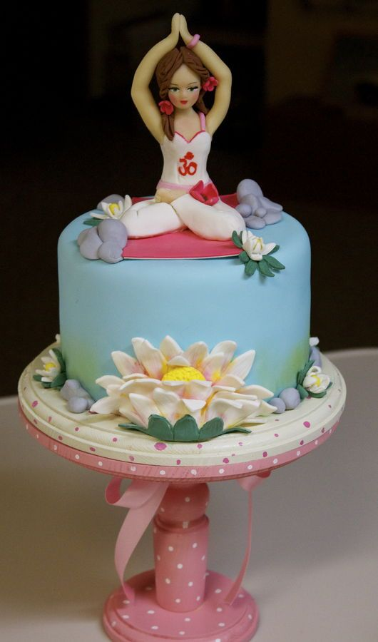 Top Yoga Inspired Cakes