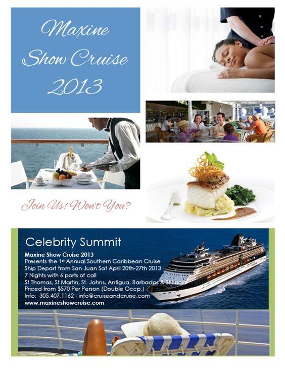 Maxine Show Cruise 2013 - A Celebration of Life