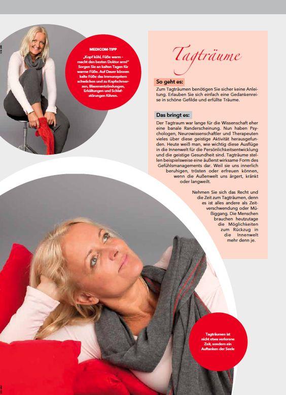 Tagträume. Einfach mal nichts tun. Sich vorstellen, was wäre, wenn ... www.medicom.de