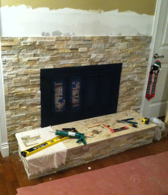 fireplace tile for wall | , Stone Wall Tile Fireplacemrs Fireplace ...