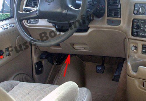 Chevrolet Astro 1996 2005 Fuse Box Location Chevrolet Astro