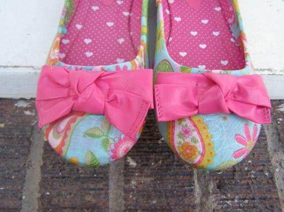 modge podge old shoes