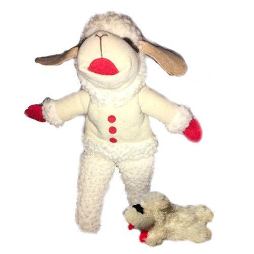 Lamb Chop Plush Puppet Stuffed Shari Lewis Wool Design Tv Show 17