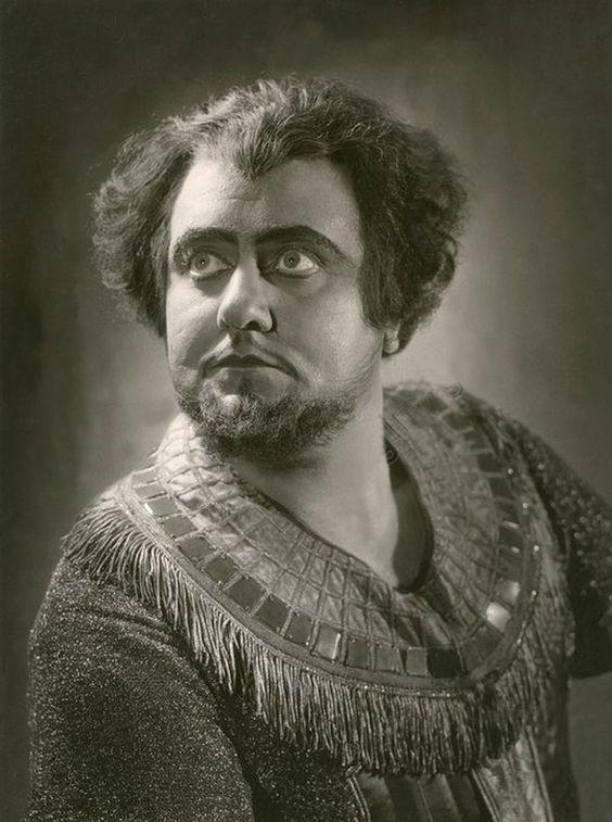 Ludwig Suthaus als Radames Stuttgart 1937