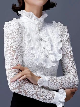 جدیدترین مدلهای شومیز حریر سفید دخترانه مجلسی