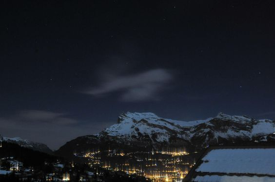 st gervais at night by Thomas De Mey on 500px