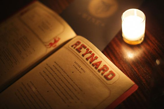 Reynard menu