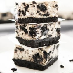 oreo cheesecake bars...enough said.