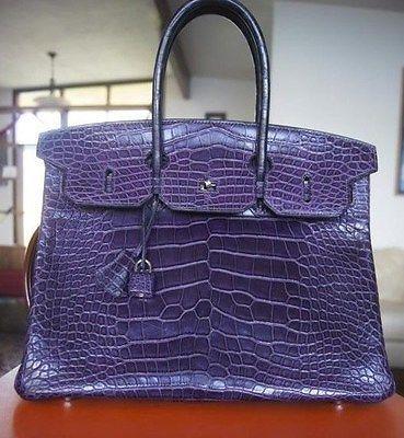 hermes gold matte alligator birkin bag- 35 cm phw