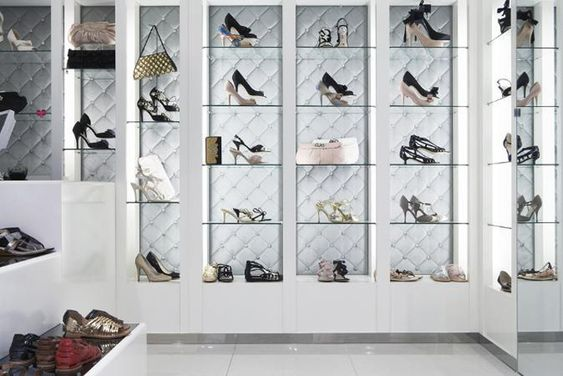 luxury dress boutiques interiors | Luxurious Shoes Boutique by Ginger Chadstone