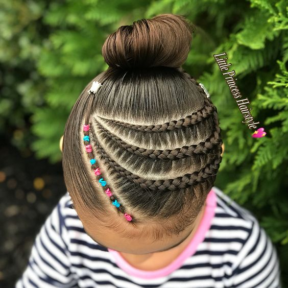 peinados con trenzas para niñas