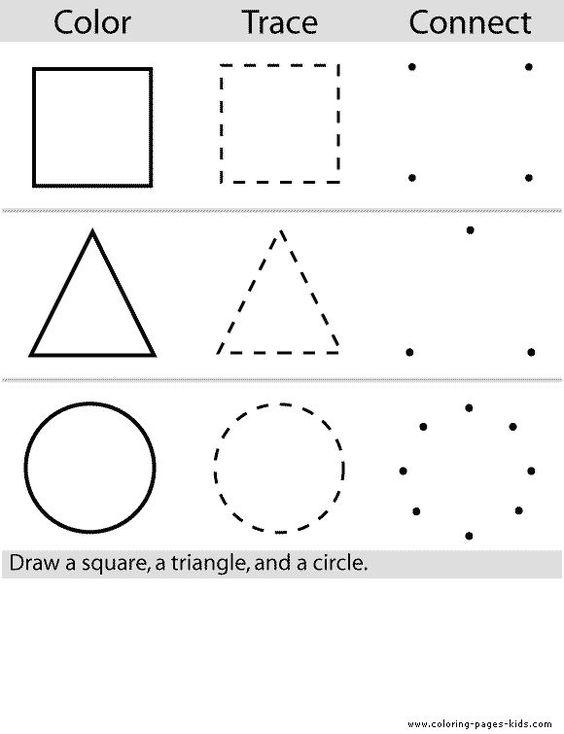 preschool color worksheets | color page, education school coloring ...