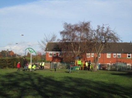 Refurbished Stallard Way play area