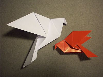 easy origami dove instructions