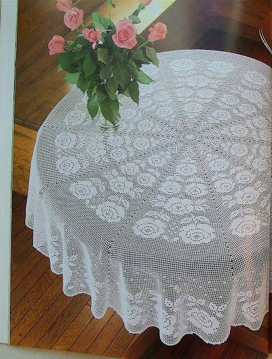 Carpetas y Manteles Crochet... - Thalia Atalaya - Picasa Web Albums