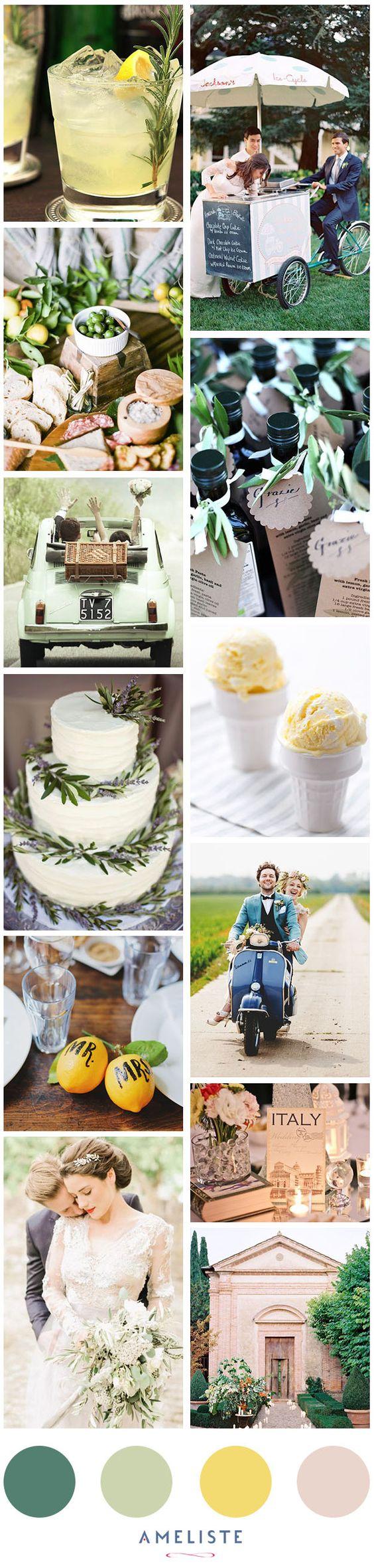 Wedding Ideas // Italian Style Wedding // Wedding in Italy #Italy #wedding