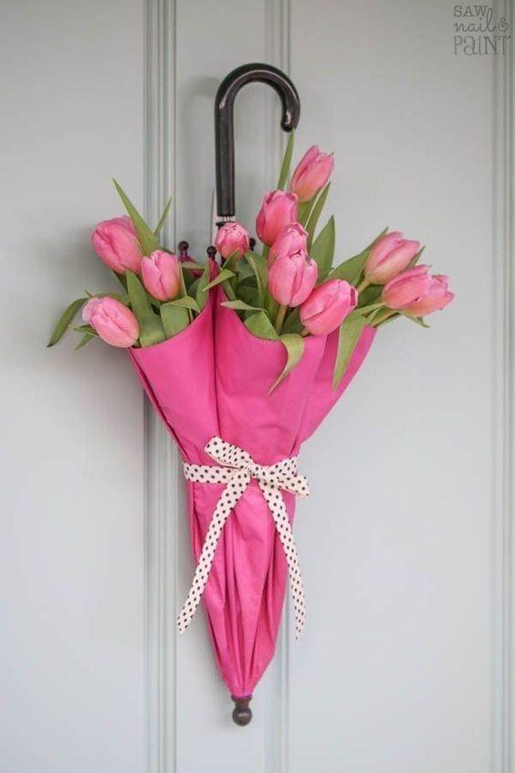 20 Pomyslow Na Wiosenne Dekoracje Do Domu Niech Zawita Do Was Juz Wiosna Spring Door Decoration Diy Spring Wreath Spring Diy