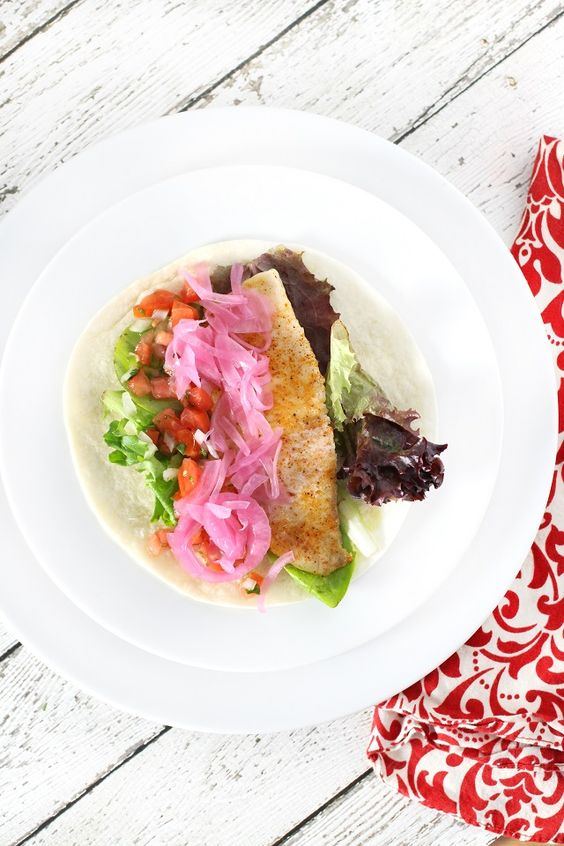 Restaurant Style Fish Tacos
