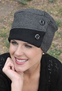 soft hats for cancer patients #millinery #judithm #hats:
