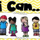 Cute headers for your I Can.. statements in your classroom.