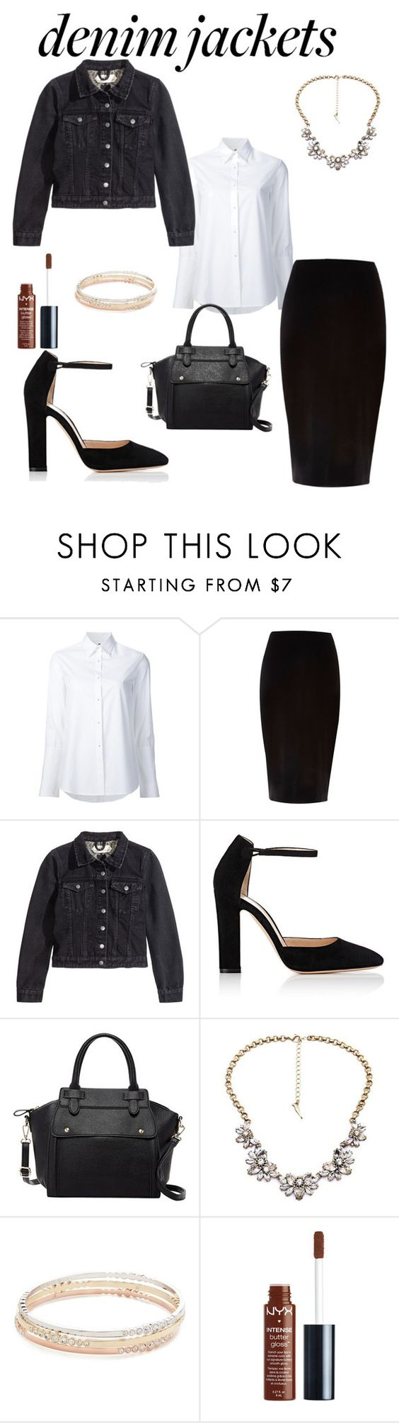 """Untitled #106"" by classinalwaysinternal ❤ liked on Polyvore featuring Misha Nonoo, River Island, H&M, Gianvito Rossi, Pink Haley, Kate Spade and NYX"