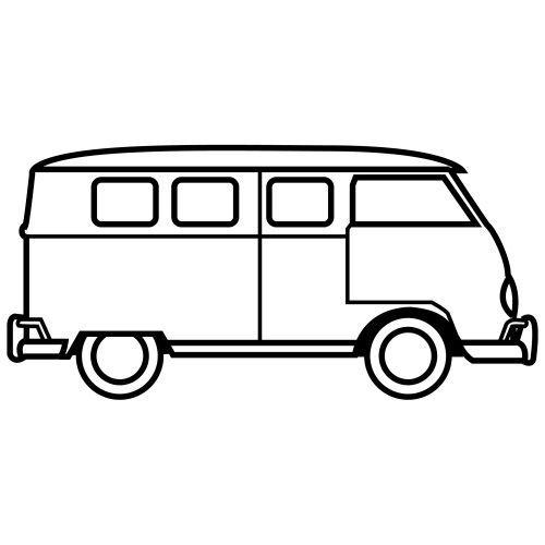 Dibujos Para Colorear De Transportes Coches Barcos Trenes Aviones Transporte Carros Para Colorear Furgonetas Volkswagen