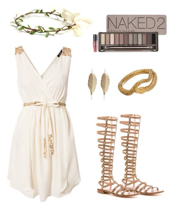 DIY Halloween costume: Greek Goddess