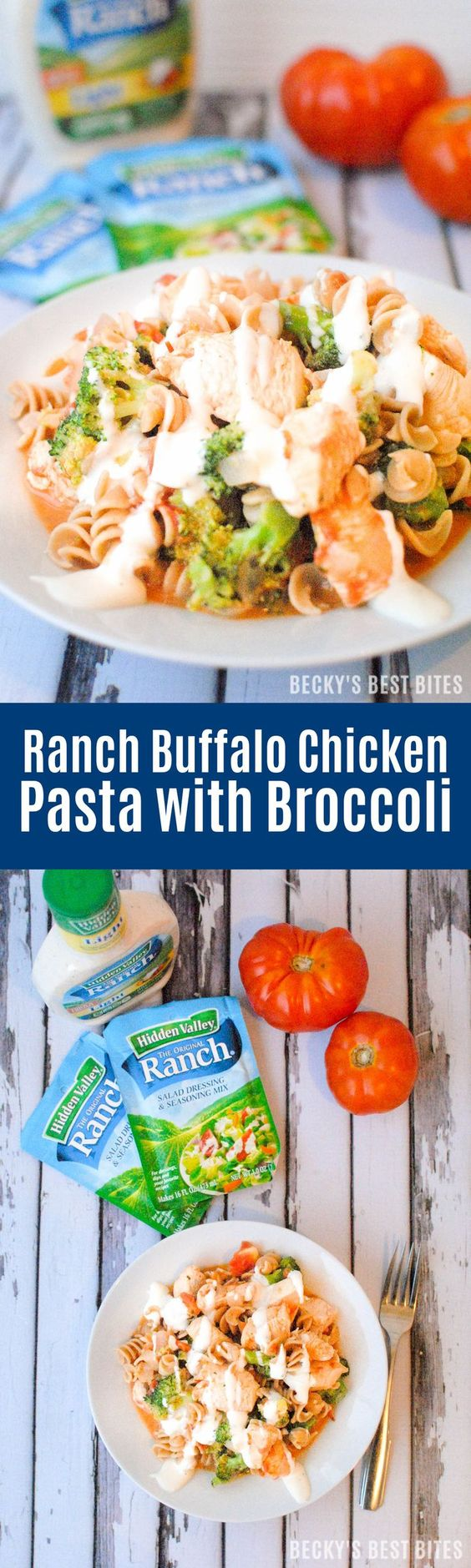 Buffalo chicken pasta recipe ranch