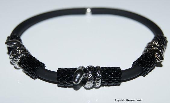 """Armbänder - Männer Armband """"Schlangen"""" - ein Designerstück von Angelas-Kreativ-Welt bei DaWanda"""
