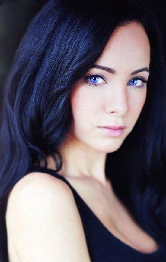 Aravena Introduction Black Hair Blue Eyes Beauty Eternal Ksenia Solo
