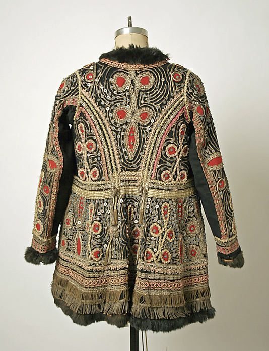 Унгарско бродирано яке