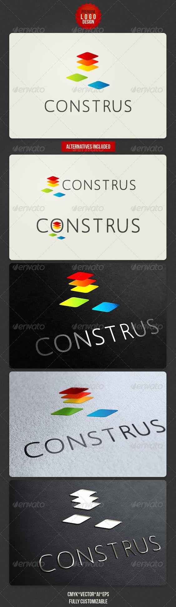 Construs Minimalistic Logo Design