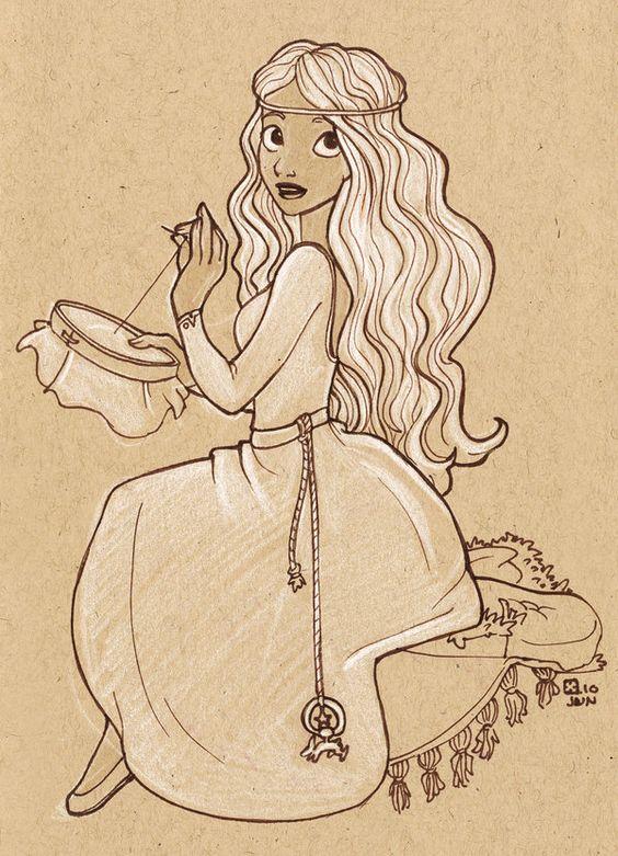 Lady Furze by *StressedJenny on deviantART