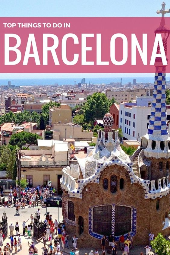 travel guide barcelona things