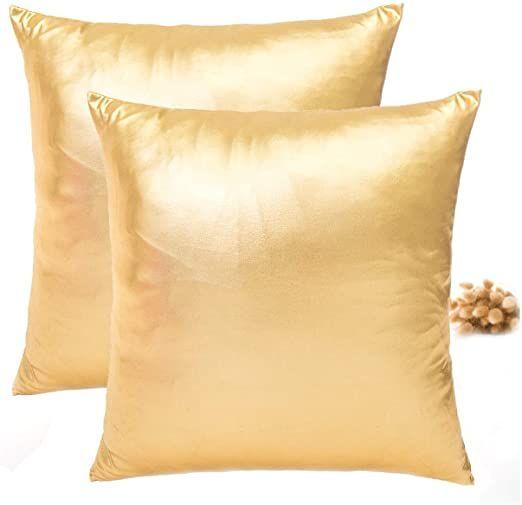 Square Pillowcase Gold Pillowcases
