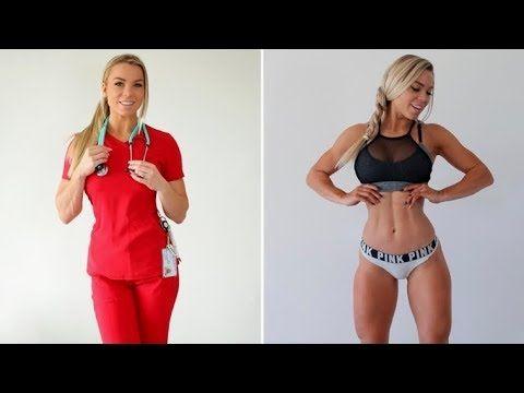 World S Hottest Nurse The Most Beautiful And Powerful Women Lauren Drain Kagan Hot Nurse Powerful Women Fit Women