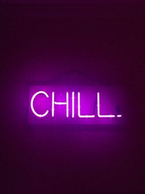 Neon Purple Aesthetic