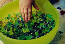 Living on Love: Sensory Kid: Water Beads