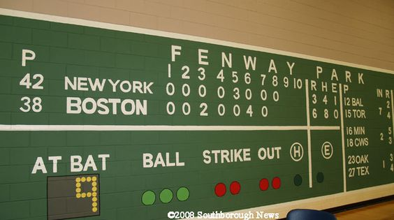 fenway park mural wallpaper - Google Search