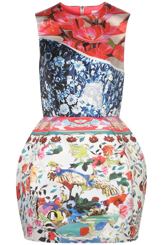 Robe ballon Mary Katrantzou