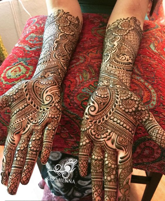 Full Hand Mehndi Henna Design All New Design