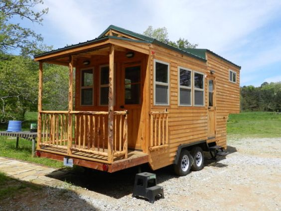 Fifth Wheel Tiny House On Wheels By Mississippi Blogjob Tinyhouseblogs 2017 04 24 Miss