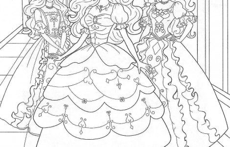 Barbie Popstar Coloring Pages Printable Pictures to Pin on