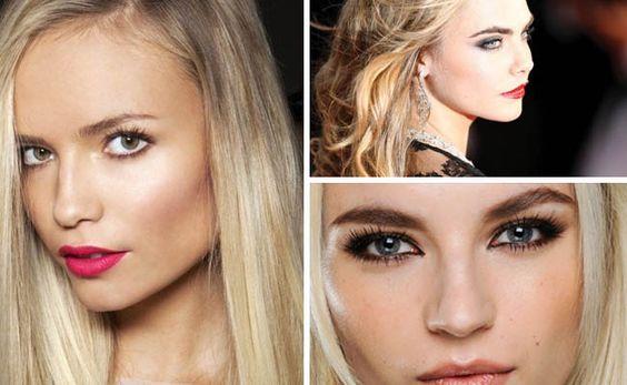 Cheveux blonds : comment se maquiller