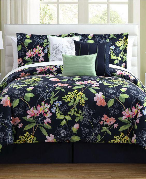 Augustine 7 Pc King Comforter Set Bedding Comforter Sets Queen