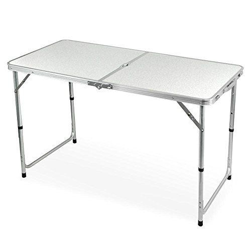 Minimalist Faltbarer Tisch In 2020 Camping Tisch Klapptisch